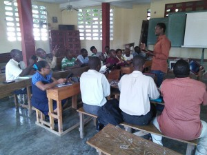 Progress continues in the Teacher Training classes
