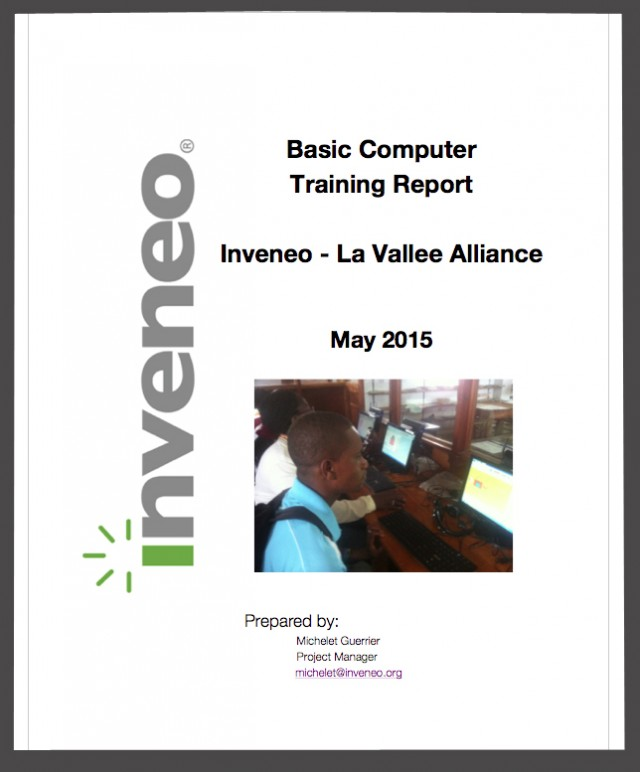 ComputerTrainingReport