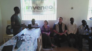 One of the sessions from Inveneo's TTT Project. Photo credit: Michelet Guerrier - Inveneo