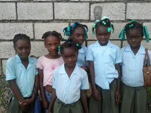 These school kids could benefit from Inveneo's Haiti Connected Schools program.