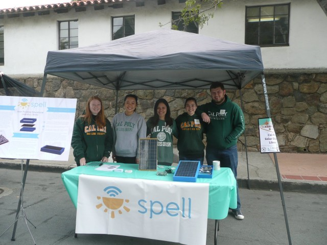SPELL Students and Dr. Laura Hosman